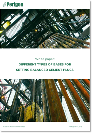 White paper: Different types of bases for setting balanced cement plugs