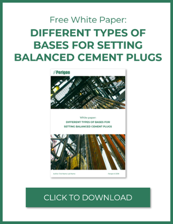 Download free white paper: Different bases for setting balanced cement plugs